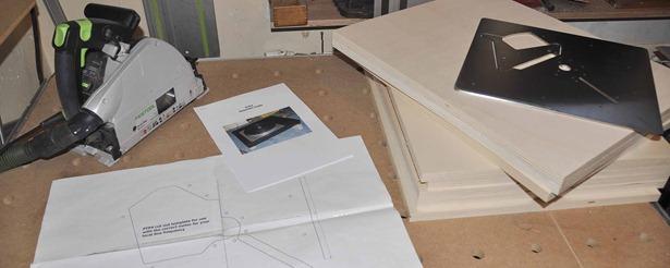 het Lenco L75 bouwplan