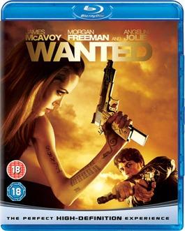 Wanted blu-ray Angelina Jolie