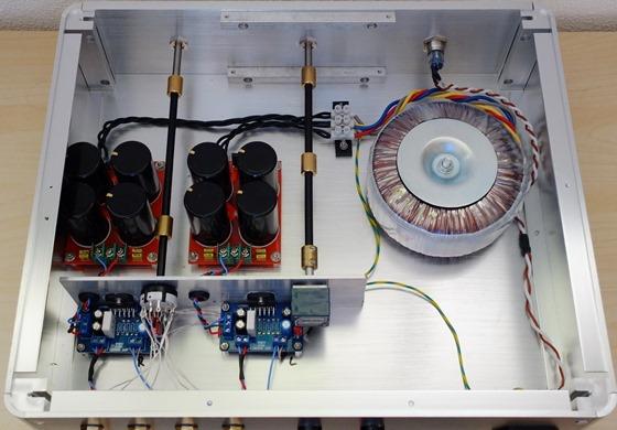 Audio Creative 3886 integrated versterker binnenkant (2)