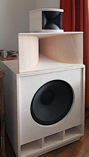 Audio Creative hornsystem