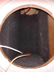 Audiovector Si 1 binnenkant wooferruimte