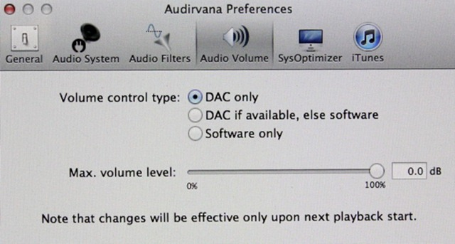 Audirvana Preferences (4)