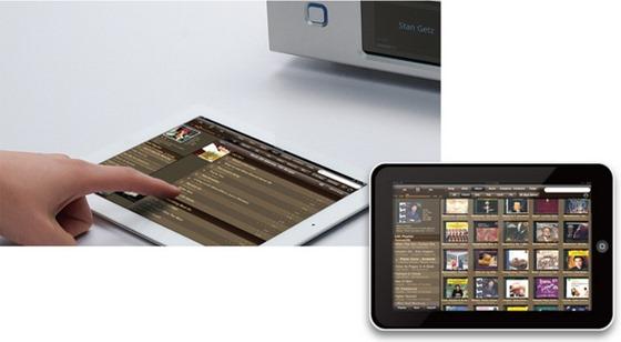 Aurender N100 app