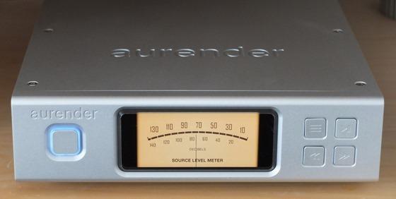 Aurender N100 display 1