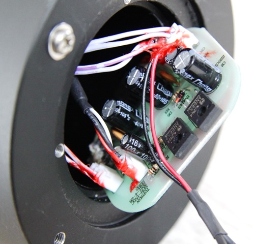 Block platenspeler motorelektronica