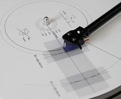 Block platenspeler protractor