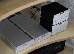 CI Audio VDA-2 DAC - Met Metrum Octave in audiorek