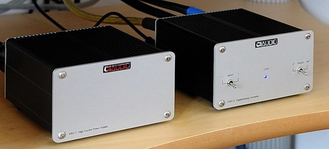 CI Audio VDA-2 met VAC-2 Voeding