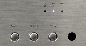 Cambridge Audio Azur 851C detail Menu