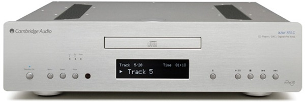Cambridge Audio Azur 851C voorkant
