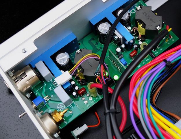 Channel Islands Audio D-500 MKII binnenkant detail