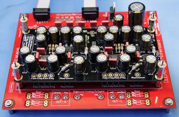 DDDAC 1794 DAC dek 1 gemonteerd