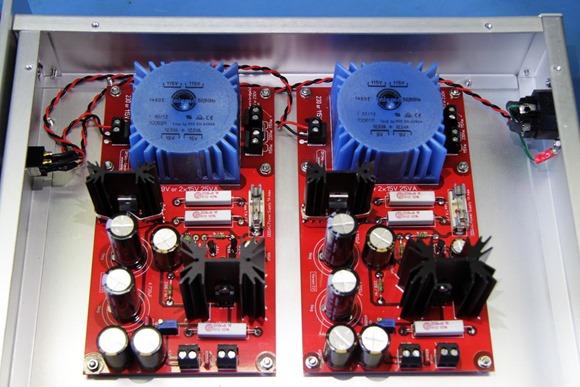 DDDAC 1794 Solo voedingen op 230 volt aansluiten