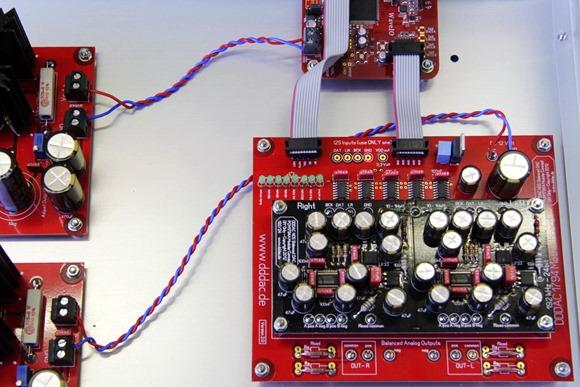 DDDAC 1794 Solo voedingen op USB en DAC aansluiten