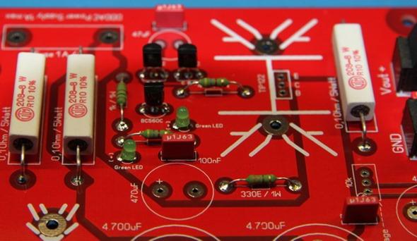 DDDAC 1794 detail moederboard