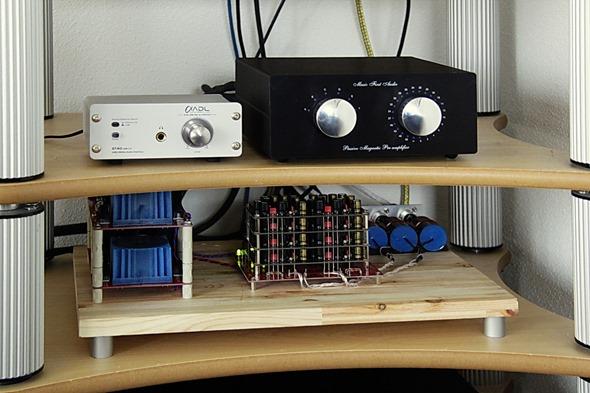 DDDAC 1794 mk3 in het audiorek