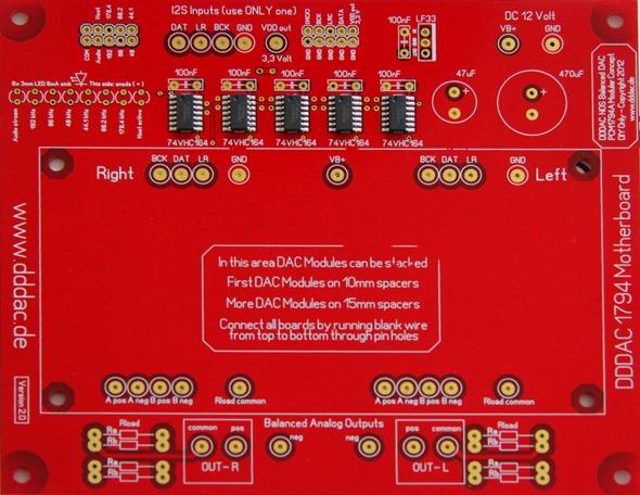 DDDAC 1794 moederboard