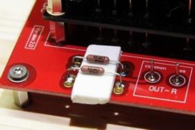 DDDAC 1794 uitgangsweerstanden solderen (1)
