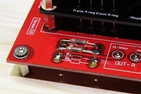 DDDAC 1794 uitgangsweerstanden solderen (2)