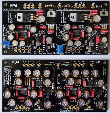 DDDAC1794 PCB oud en nieuw