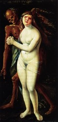 Hans Baldung Grien Death and the maiden (1517)