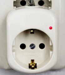 Horch Line Silencer stekker met faseindicator