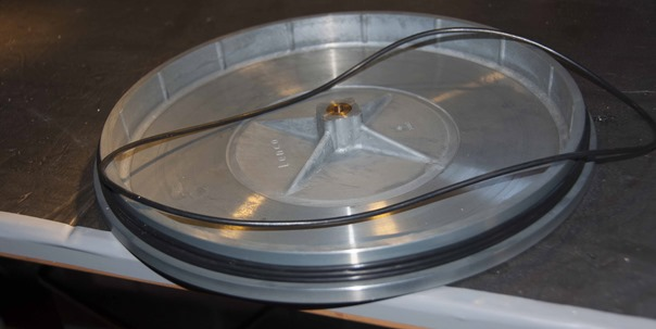 L75 plateau met O-ringen