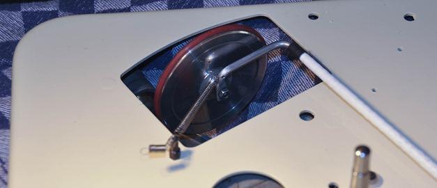 Lenco B51 tussenwiel