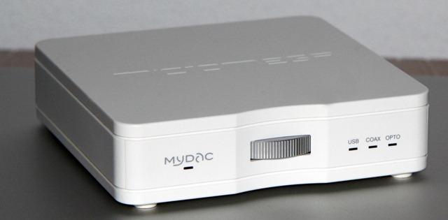 Micromega Mydac schuinvoor