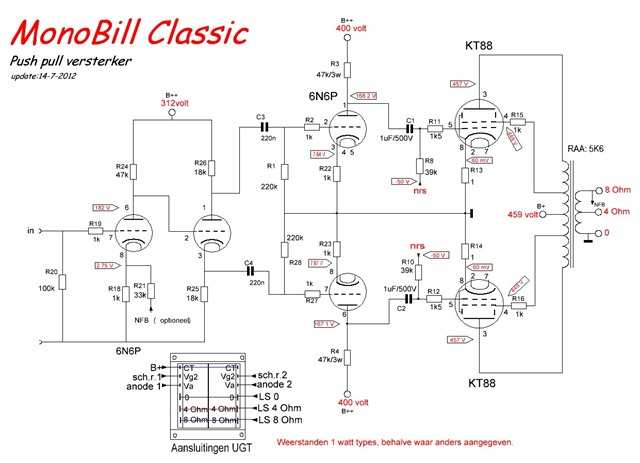 Triodedick MonoBill Classic schema