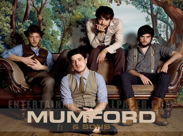 Mumford & Sons live at the Ziggo Dome , march 2013