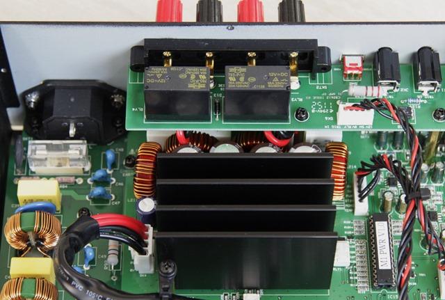 Musical Fidelity M1PWR versterkermodule met relais