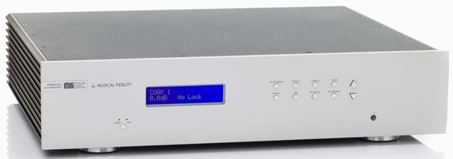 Musical Fidelity M6 DAC voorkant blank