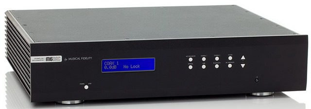 Musical Fidelity M6 DAC voorkant