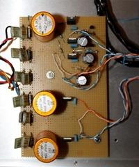 Musical Fidelity V-DAC voeding pcb