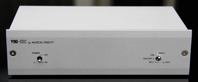 Musical Fidelity V90-DAC frontaal
