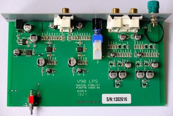 Musical Fidelity - V90-LPS PCB