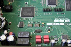 Mytek DSD DAC binnenkant detail dacchips