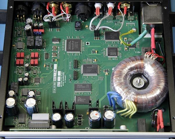 Mytek DSD DAC binnenkant