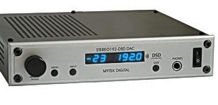 Mytek DSD DAC voorpagina