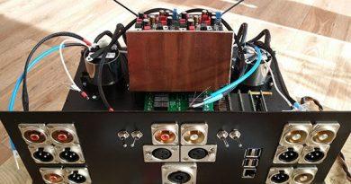 Een DDDAC1794 NOS DAC met audiostreamer en TVC