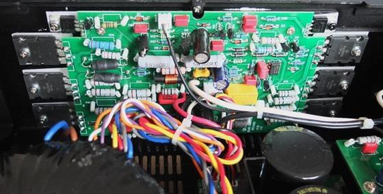 Quad Artera Stereo binnenkant detail