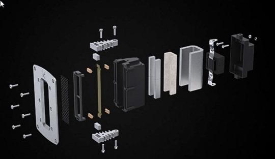 Quad-Z3 Ribbon speaker