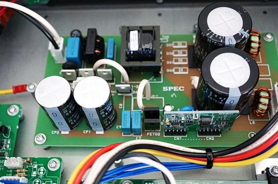 SPEC RPA-W7EX binnenkant detail voeding
