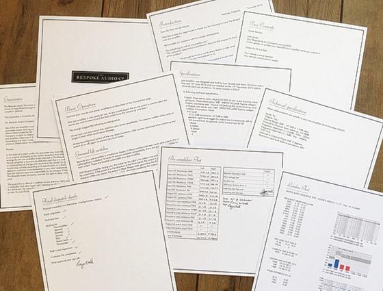 The Bespoke Audio Company documenten