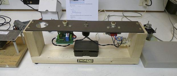Thorens motor testopstelling