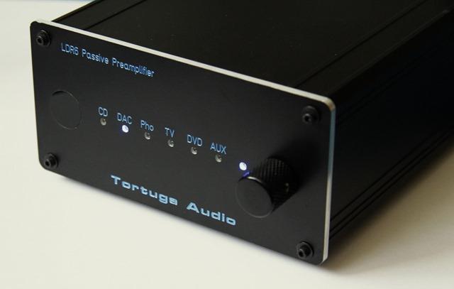 Tortuga Audio LDR6 front schuin