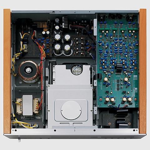 Yamaha CD-S2000 binnenkant