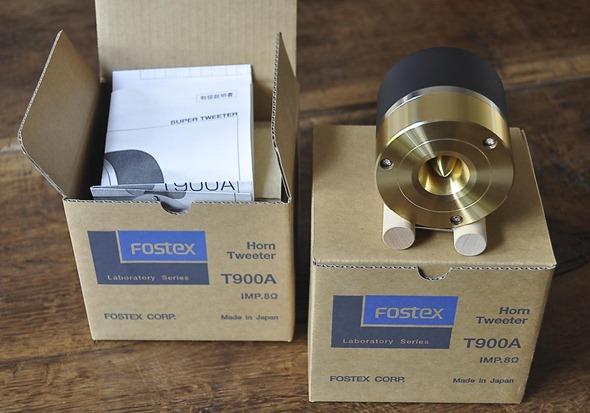 fostex T900A in verpakking