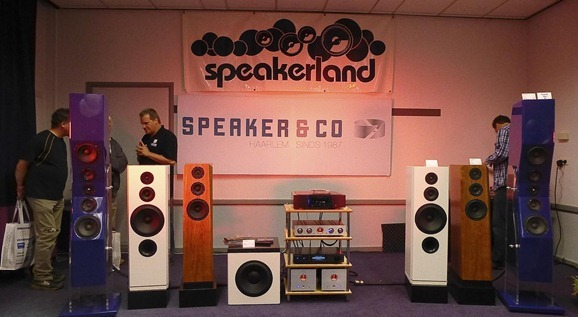 De stand van Speakerland op de X-fi